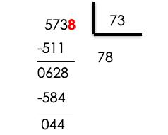 Ejercicios divisiones dos cifras