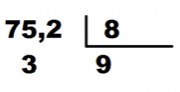pasos dividendo con decimales