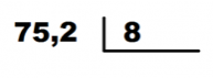 dividendo con decimales