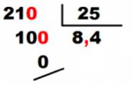 división decimales solución