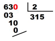 solución divisor decimales