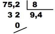solución division con decimales en divisor
