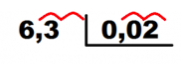 pasos divisor decimales