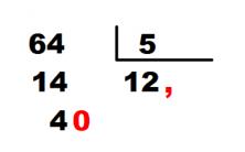 decimales en division