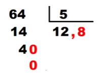 solucion division decimales