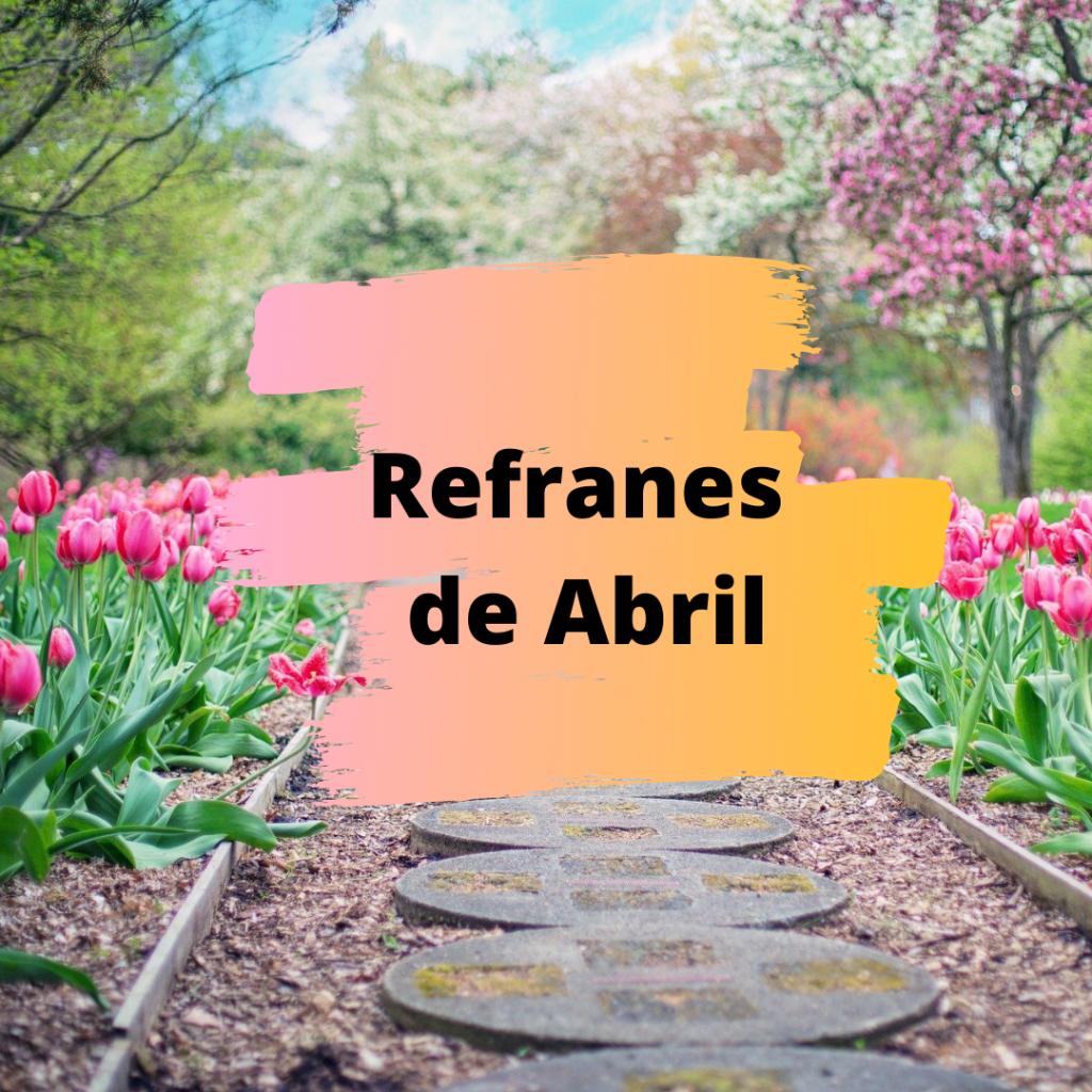 Refranes de Abril