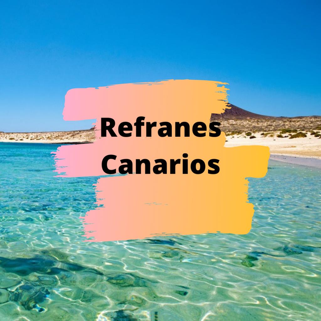 Refranes Canarios